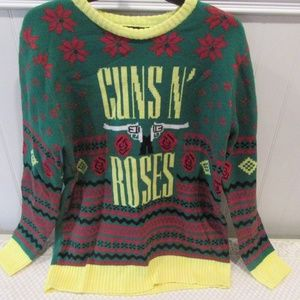 Sweaters Metal Guns N Roses Ugly Christmas Sweater Xl Poshmark